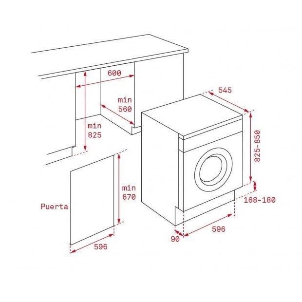 Стиральная машина с сушкой Teka LSI5 1480